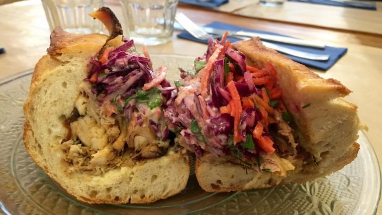 meilleur sandwich poulet paris