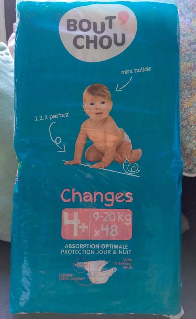 meilleures couches pour bébé